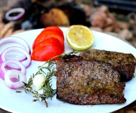 """Wild Barbecue """"Smoked Meat Steaks"""""""