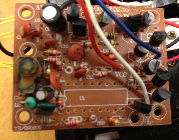 Picture of Circuit Board (Remove Controller Chip)