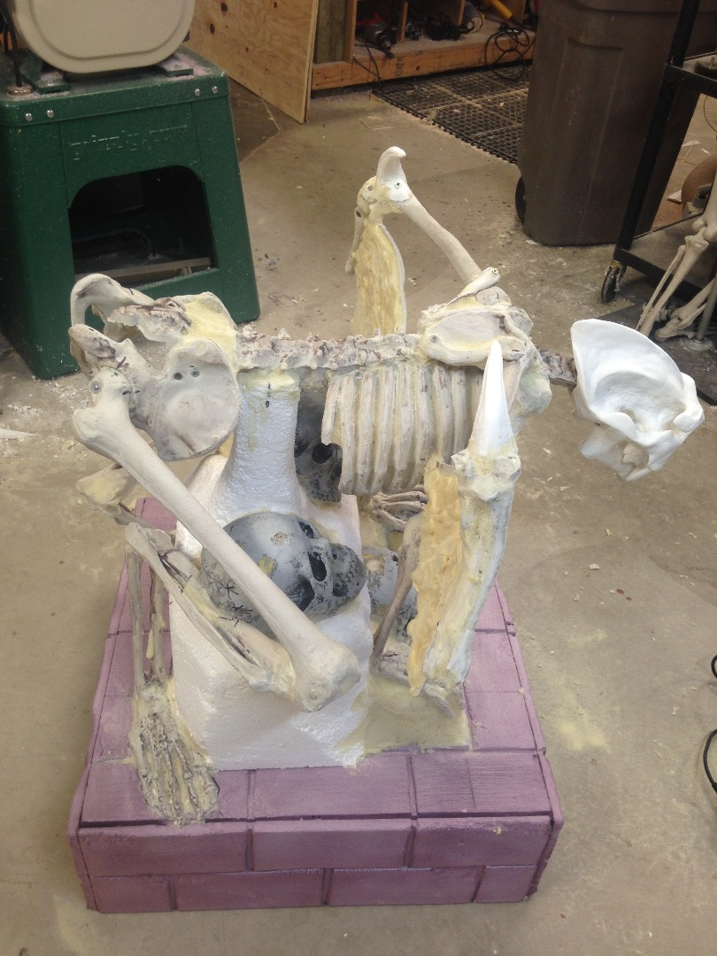 Picture of Creating the Gargoyles - the Head and Body