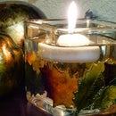 DIY Fall Candle Holder