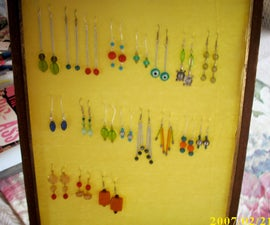 How to Make a Cheap Jewelry Display
