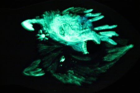 Glow in the Dark/Nachtleuchtfinish