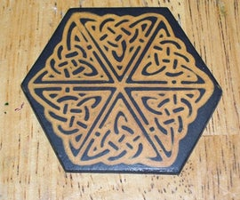 Inlay Rubber Stamp Designs in Polymer Clay