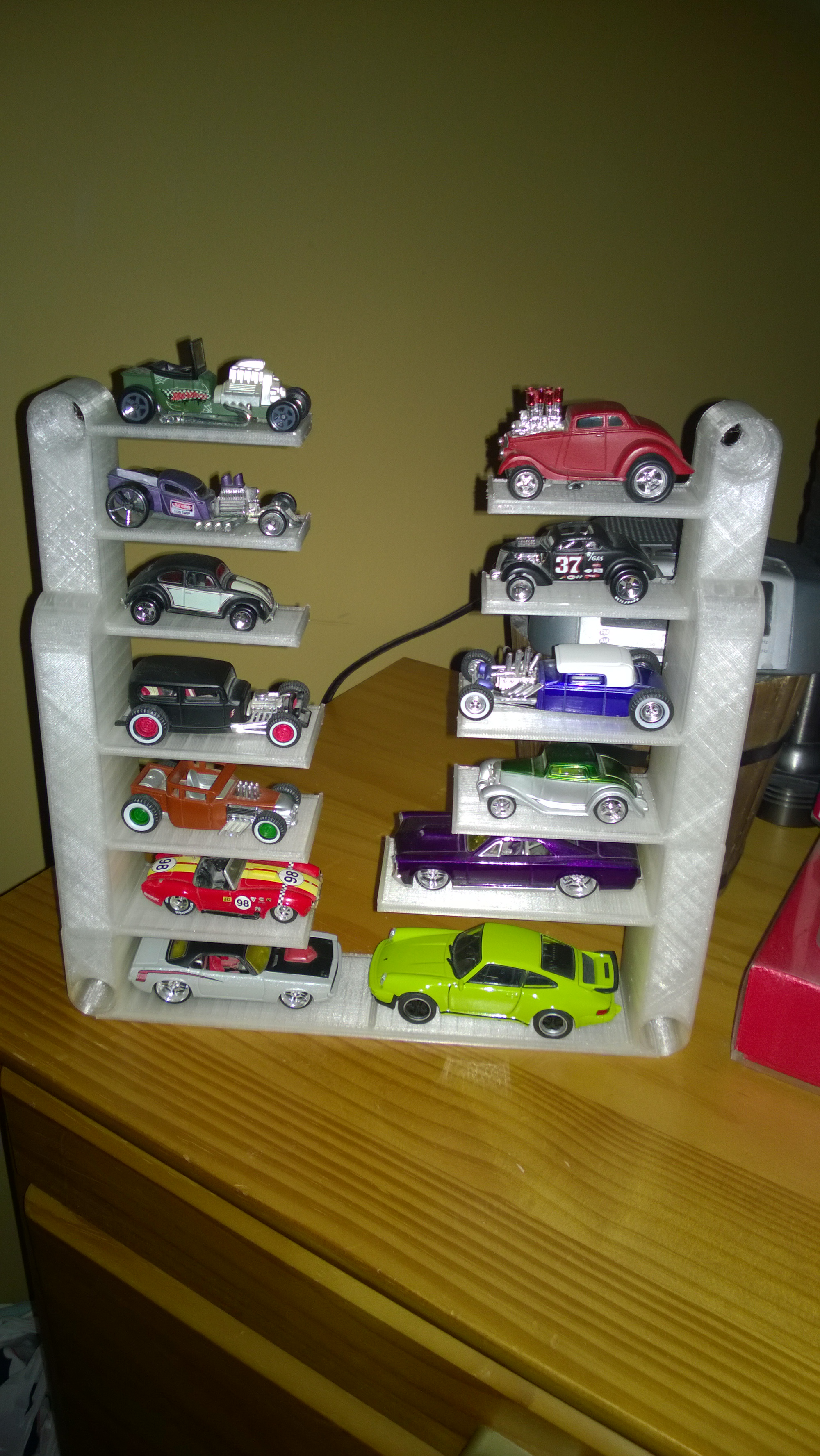 Picture of A 3D Printed Model Car Display Case