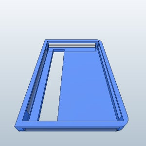 UNIVERSAL LAPTOP HOLDER (made With Autodesk 123D Design)