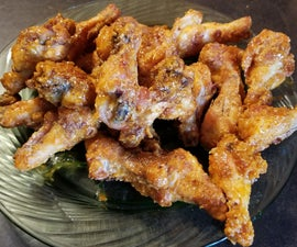 Spicy Chicken Wings, Baked and Gluten Free