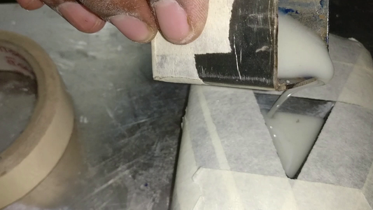 ​Pouring the Resin