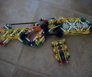 The Lightning Scythe, a Knex Bolt Action Assault Rifle