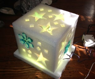 Winter Wonderland LED Music Box