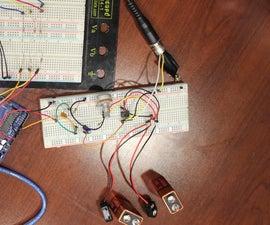 Arduino Guitar Note Detector