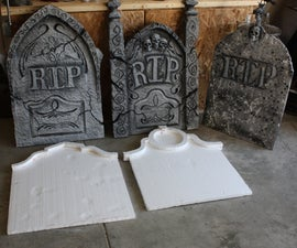 Home Made Grave Stones