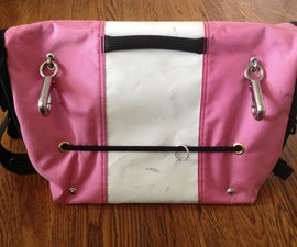 Hack your messenger bag to make a bike pannier