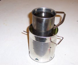 Tin Can Sterno Stove