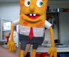 spongebob squarepants hand puppet