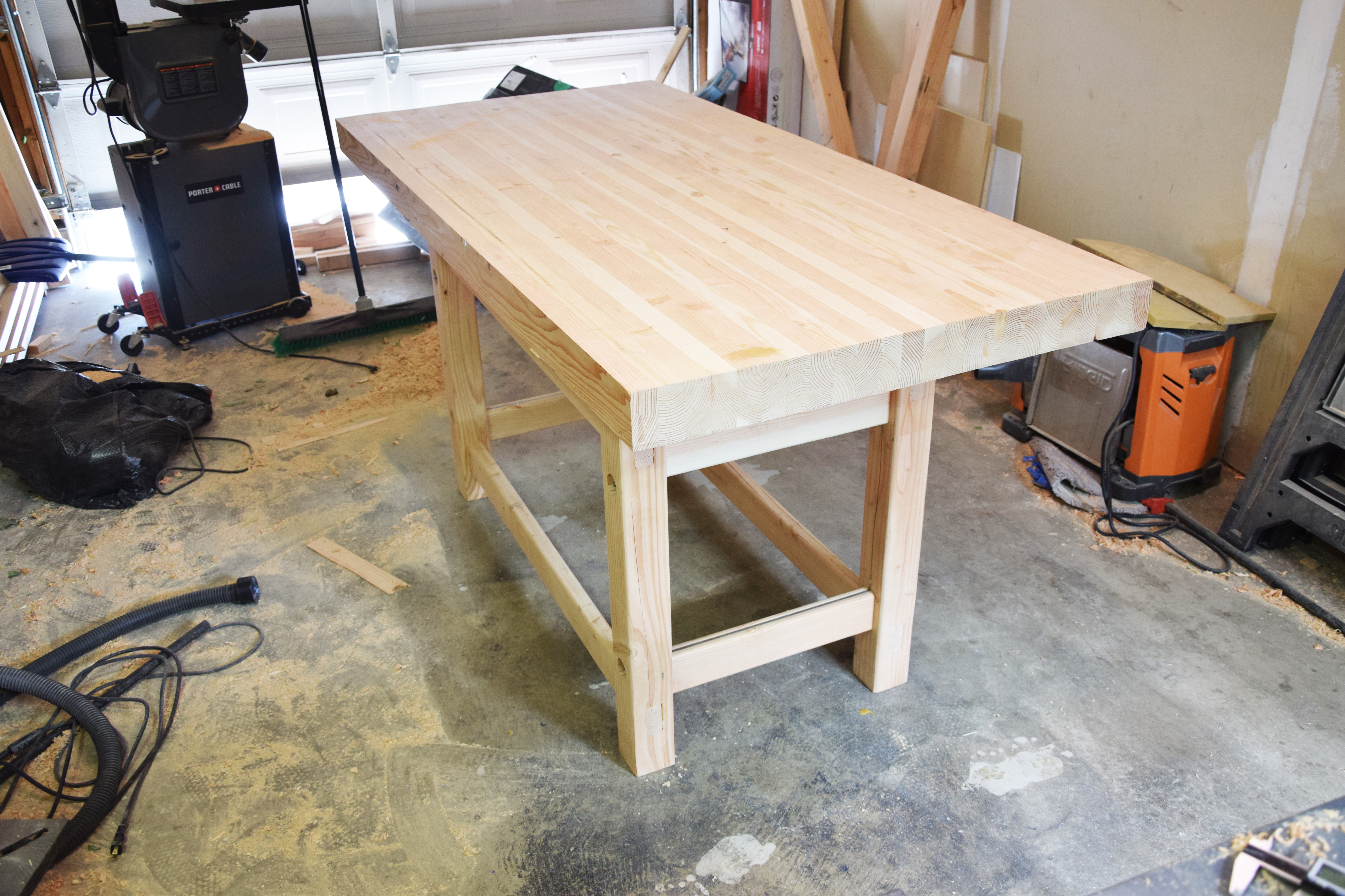 Picture of Sand the Top of the Workbench