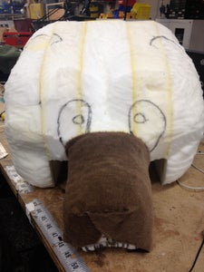 Attaching and Shaping Fur