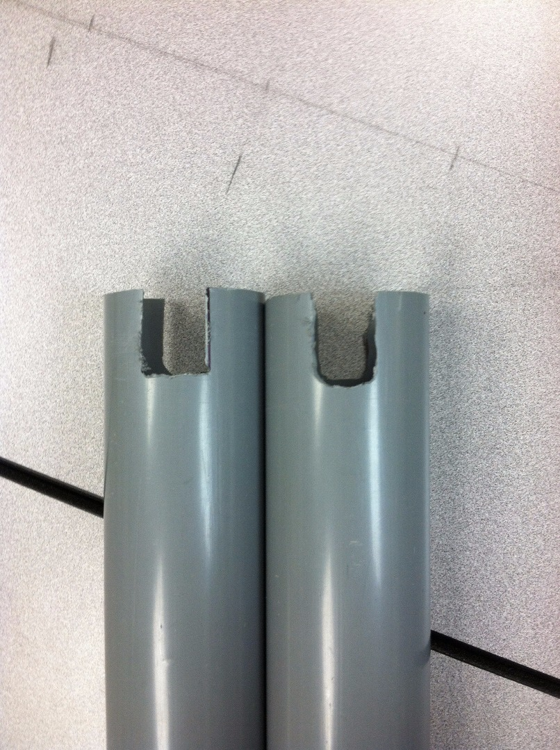 Picture of Cutting PVC Pipe