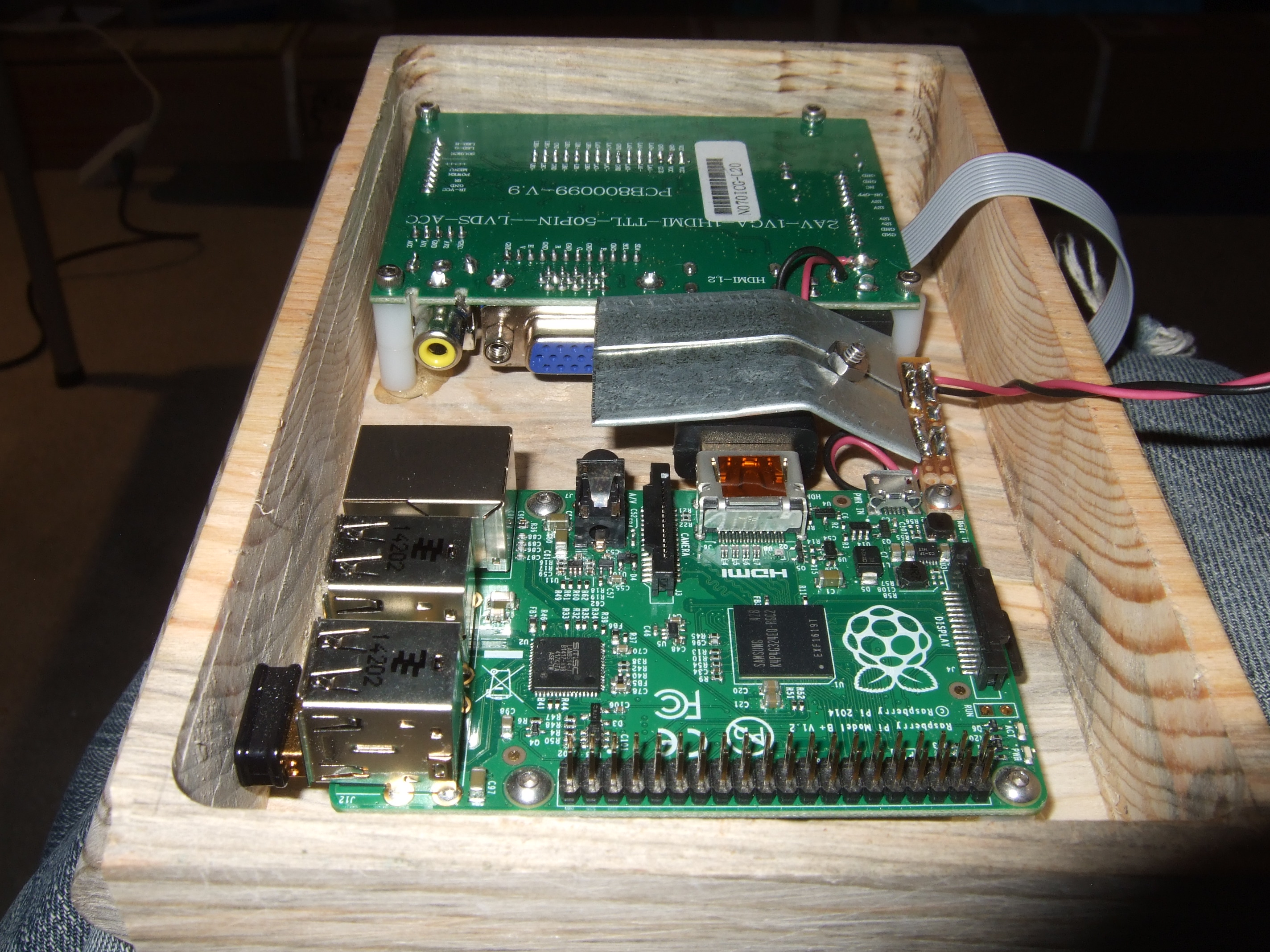 Picture of Computer and Monitor Board