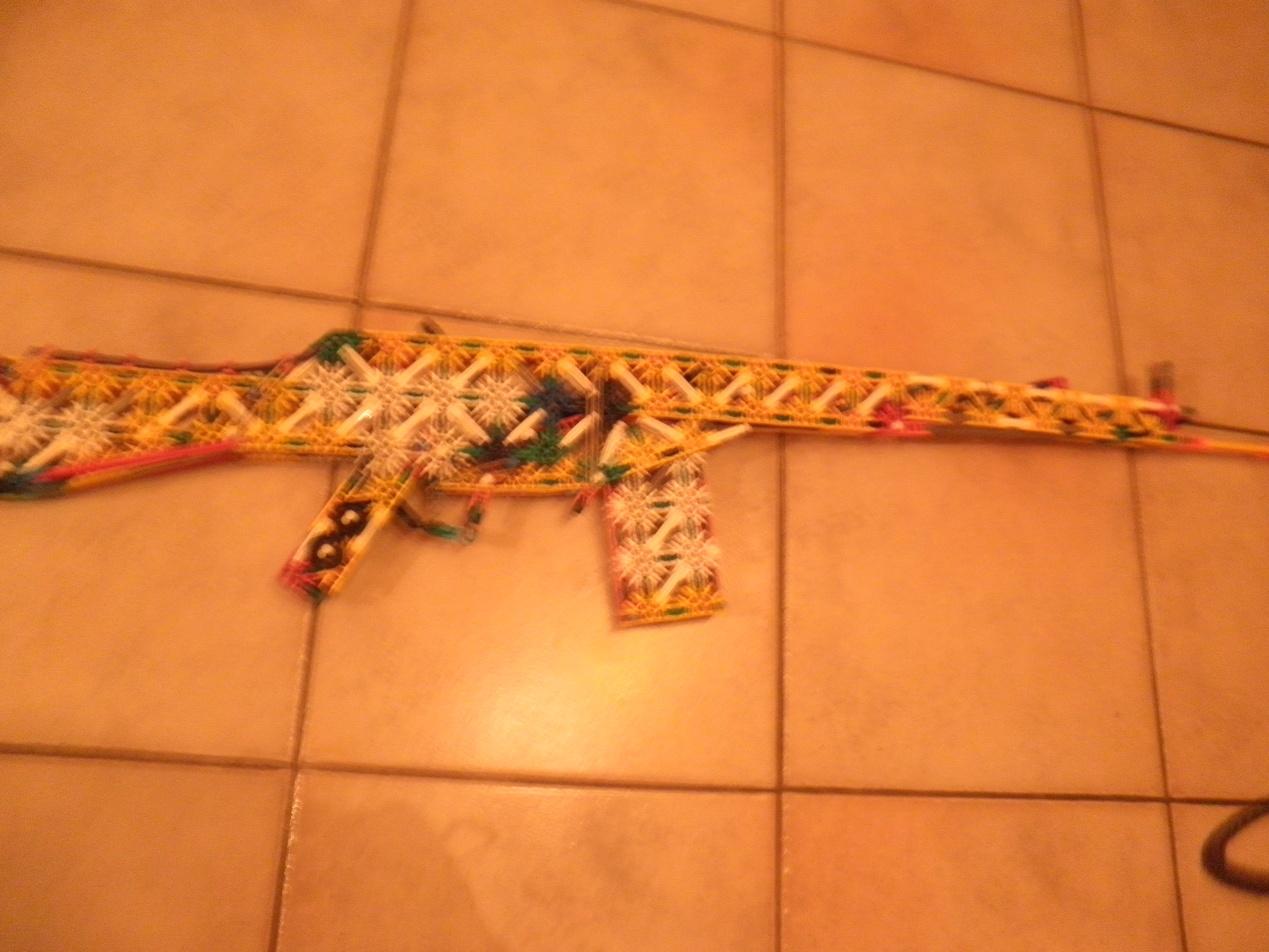 Picture of Knex H&K G3 Instructions