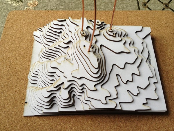 Making a Relief Model of Edgewood Park