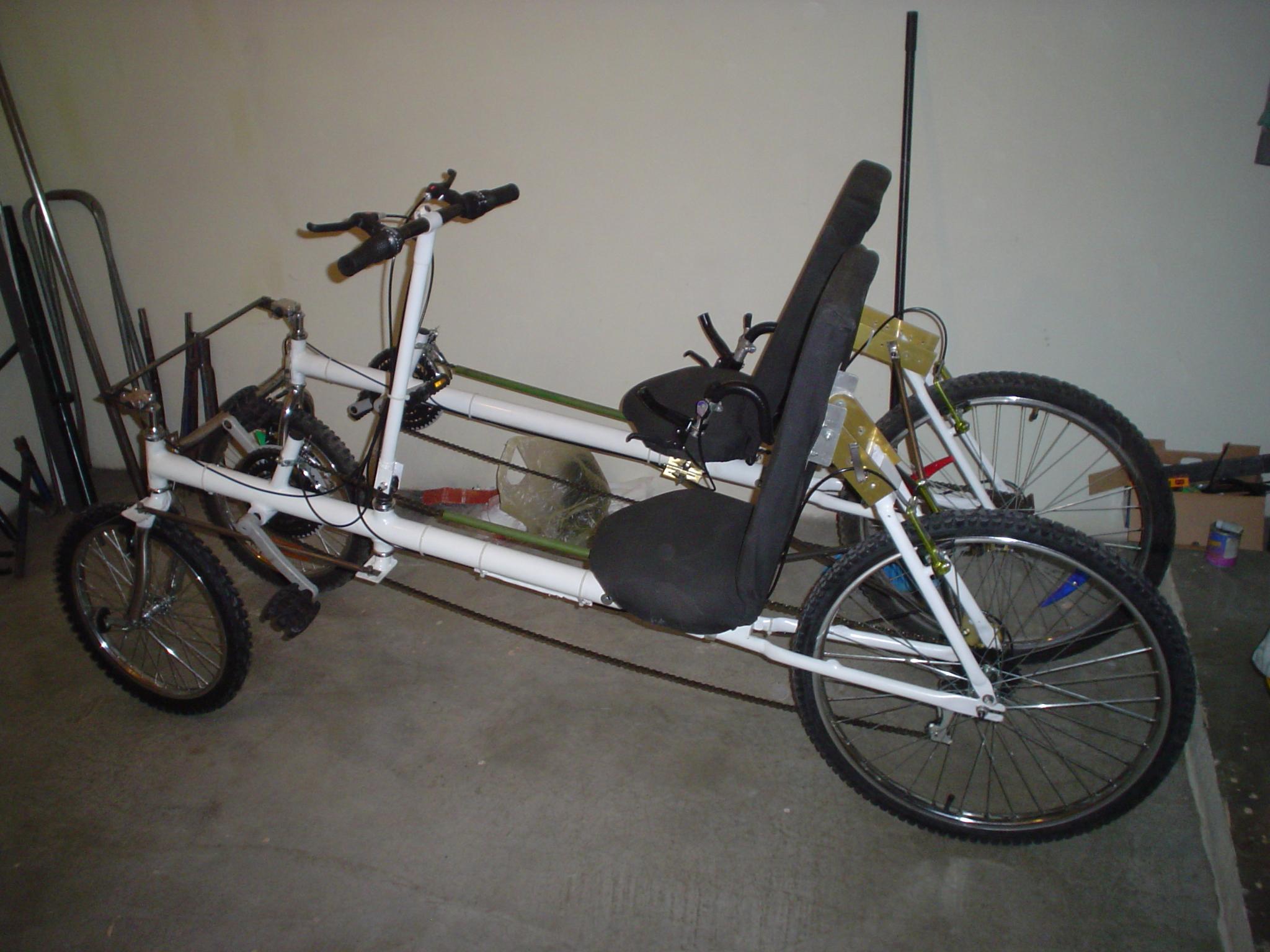 Picture of Tandem Recumbent Bike