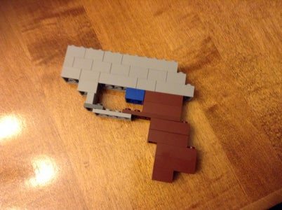 Make a Lego Walther PPK Model