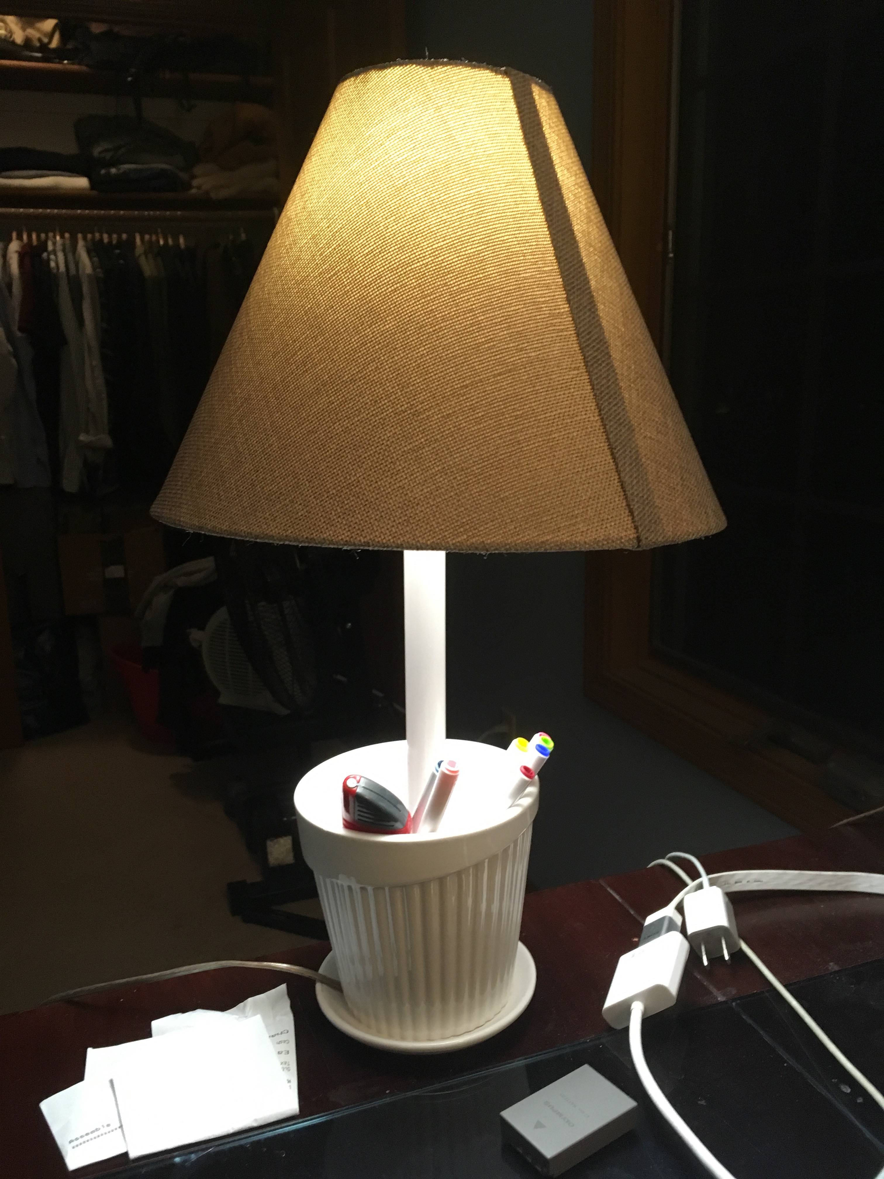 Picture of Flower Pot Lamp
