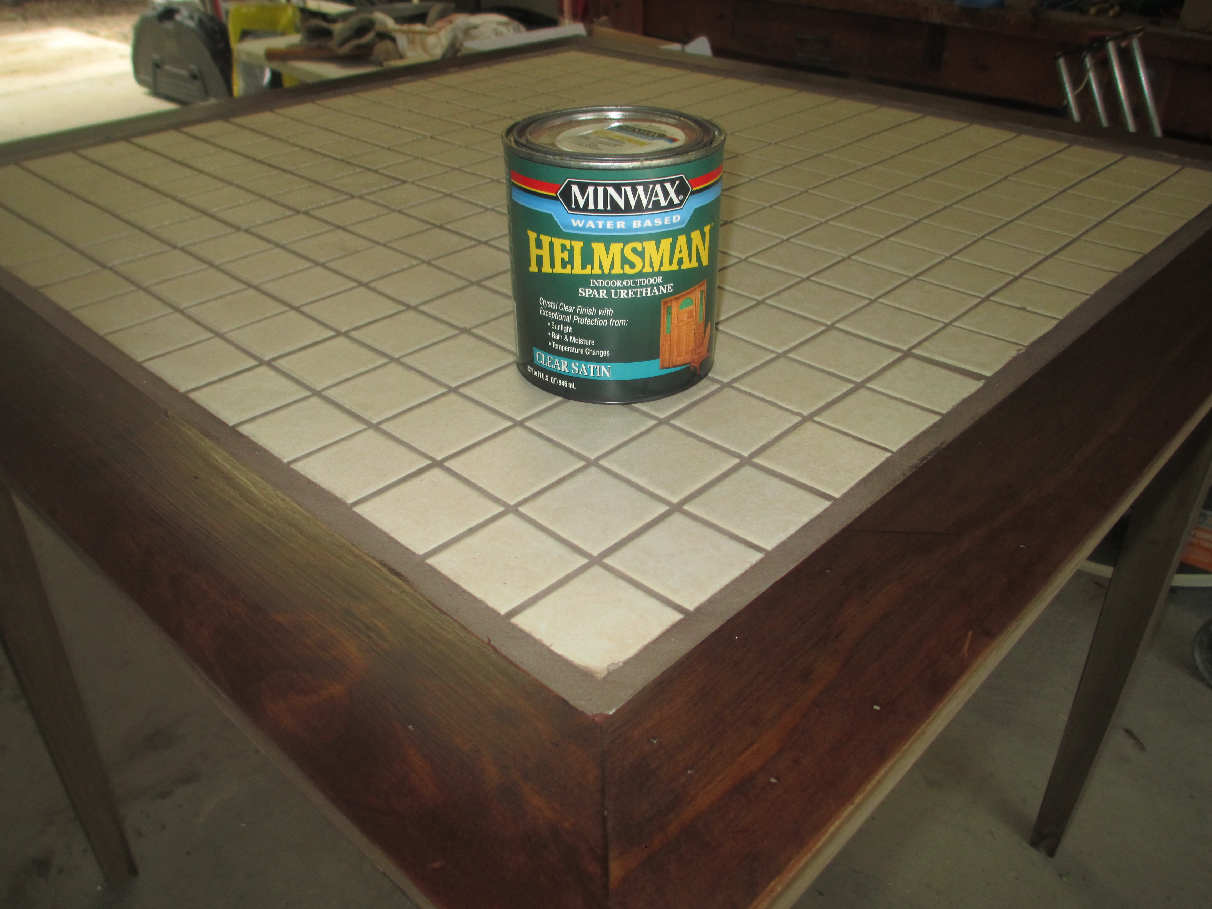 Picture of Apply Finish Coat to Frame