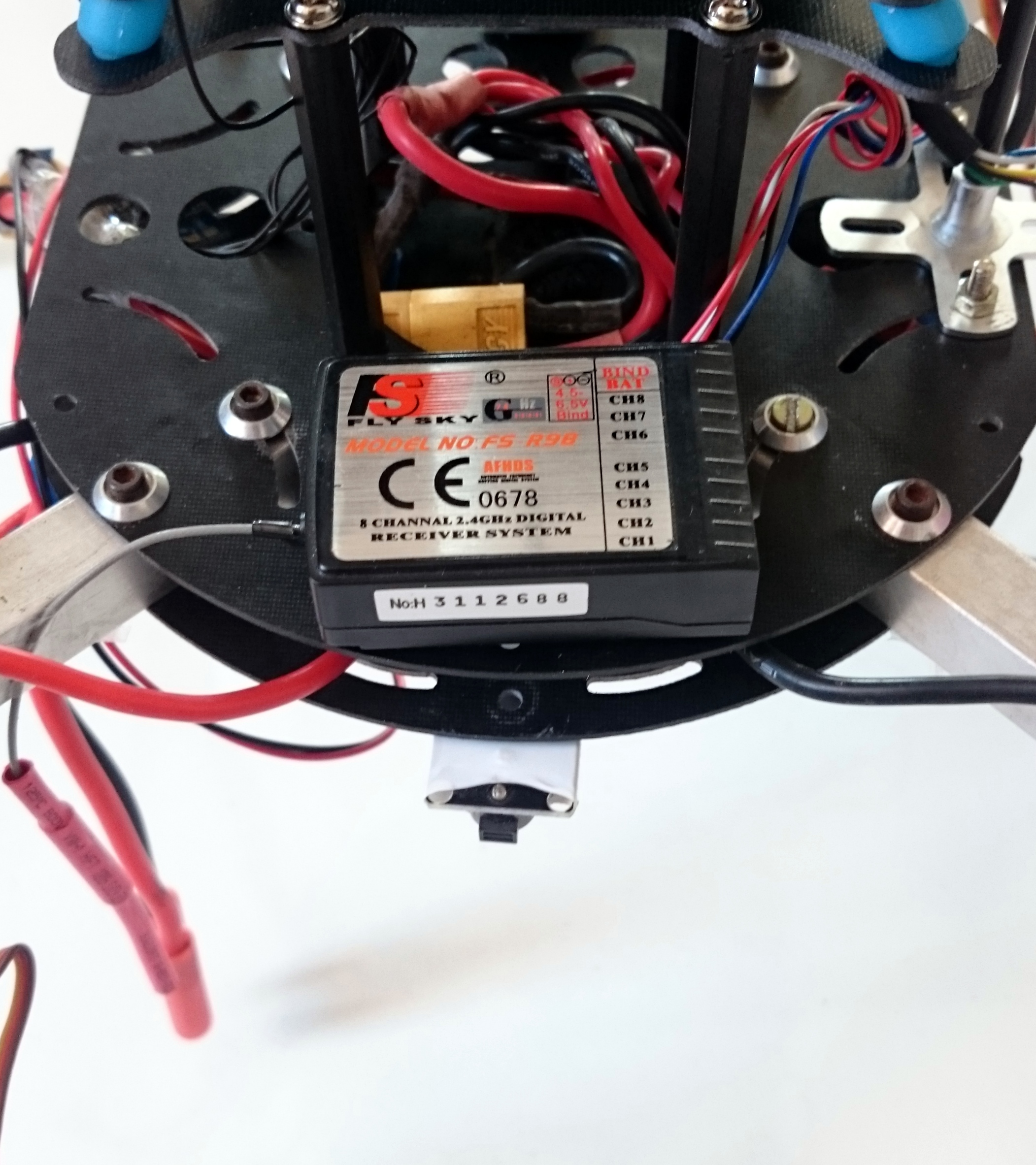 Picture of Attaching the 2.4 G Radio Receiver Module