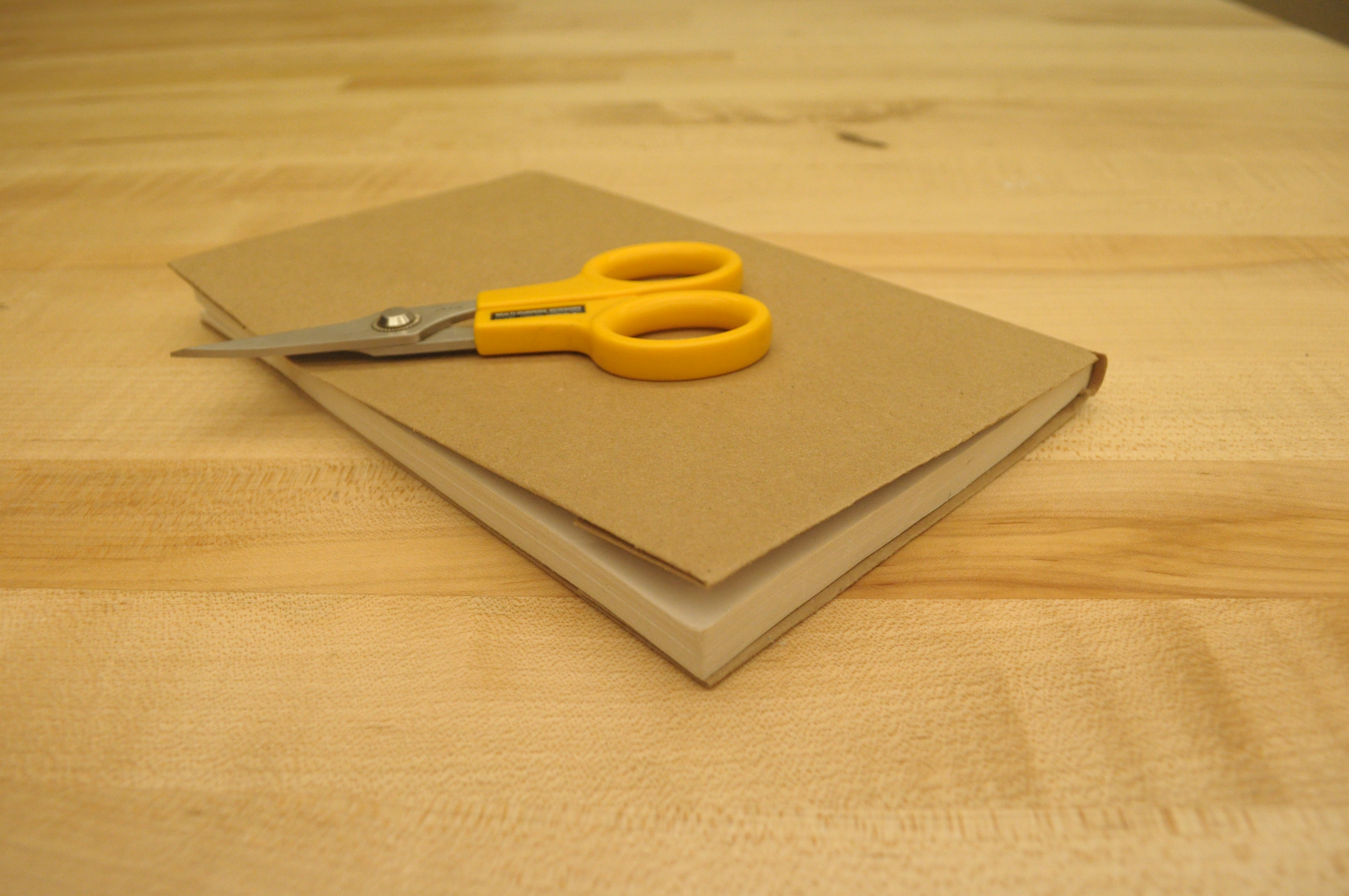 Picture of How to Make a Quick Book Cover