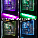 RGB LED Computer case lighting (magnetic)
