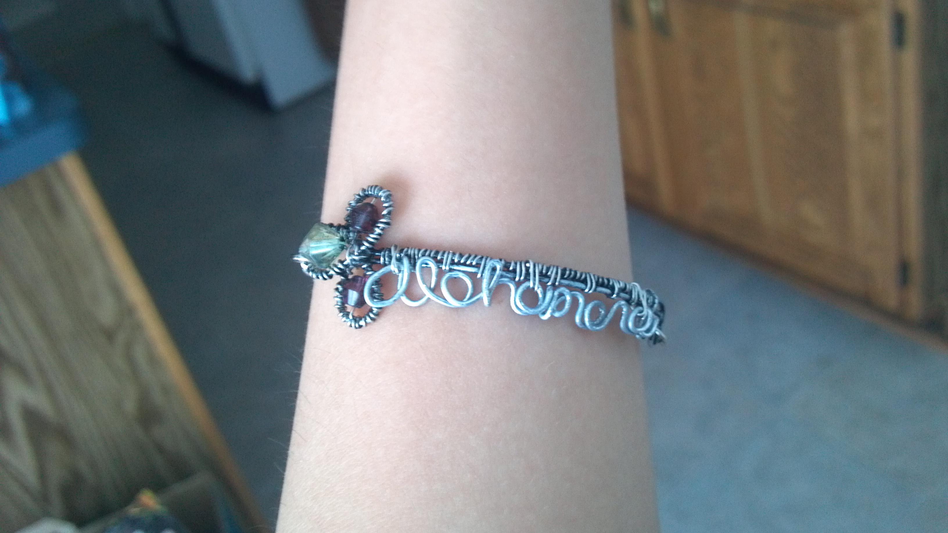 Picture of Alohomora Key Bracelet