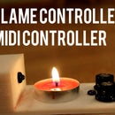 Flame Controlled MIDI Controller