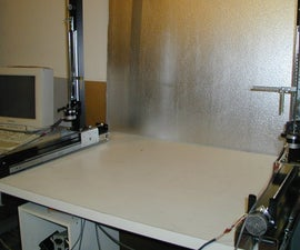 Make a CNC Hot Wire Foam Cutter from parts available at your local hardware store