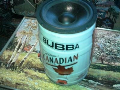 Bubba Beer Keg Sub-Woofer