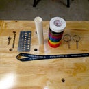 Electrical Tape Organizer