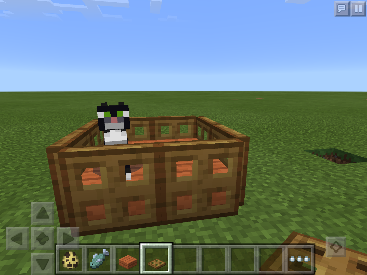 How To Make A Pet Bed In Minecraft Pe 0 13 0 5 Steps Instructables