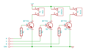 Picture of LED Driver Circuit
