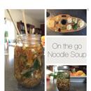 On the go Noodle Soup