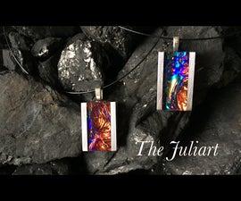 Aluminum & Resin Rainbow Nebula