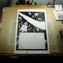 Light table/drawing board
