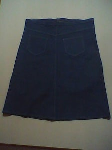 How to Make a Jean Skirt