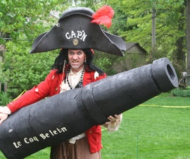 Authentic looking Pirate Cannon