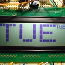 Display super sized font on HD44780 20X4 character displays with Arduino