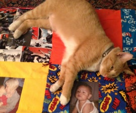 Create a Cuddly Memory Quilt (cat not included)