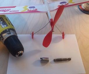Rubberband Airplane Winder