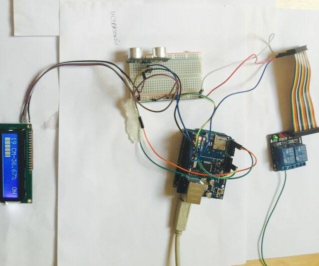 Arduino Water Level Measurment