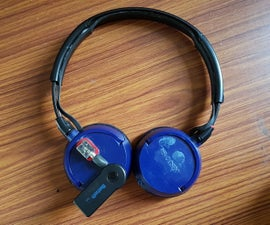 Wired to Wireless Bluetooth Headphone Convertion