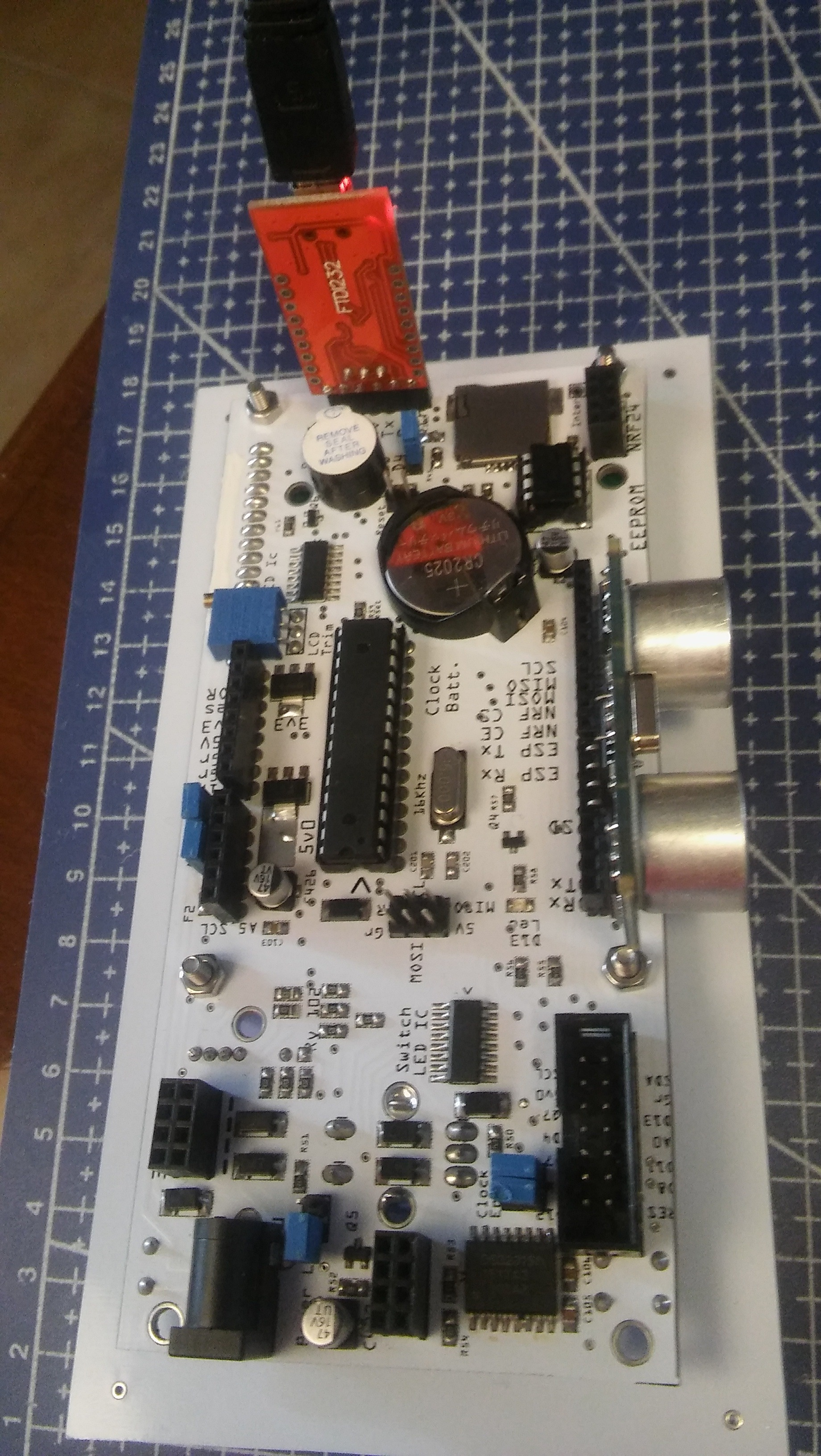 Picture of Ultrasonic Measure  With Inviot U1 (arduino Compatible)