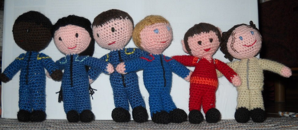 Picture of Star Trek: Enterprise - Amigurumi Cast